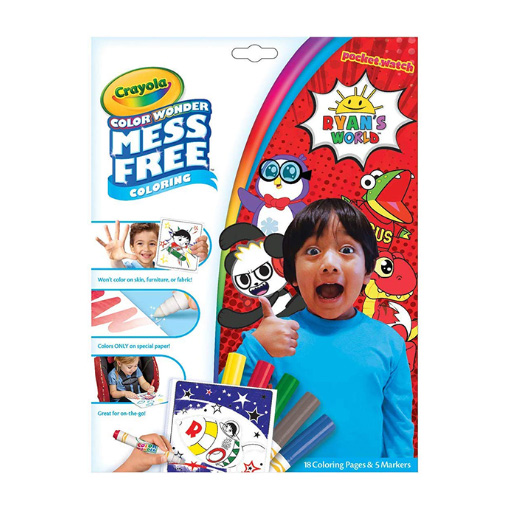 Ryans World Coloring Art Set for Boys with Stickers